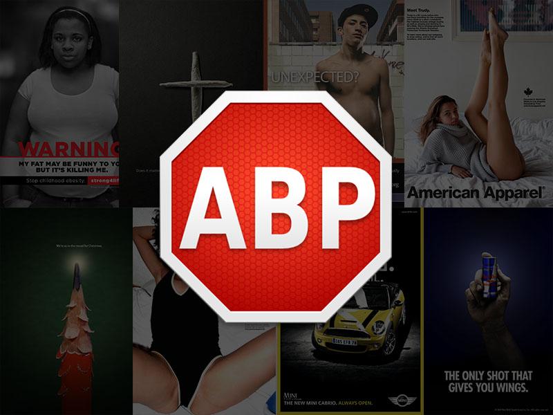 Utiliza Adblock Plus y deja de pensar en publicidad