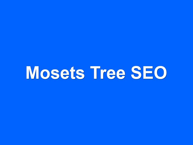 Mosets Tree SEO