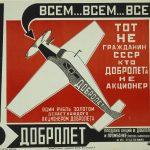 Alexandr Rodchenko anuncio para Dobrolet