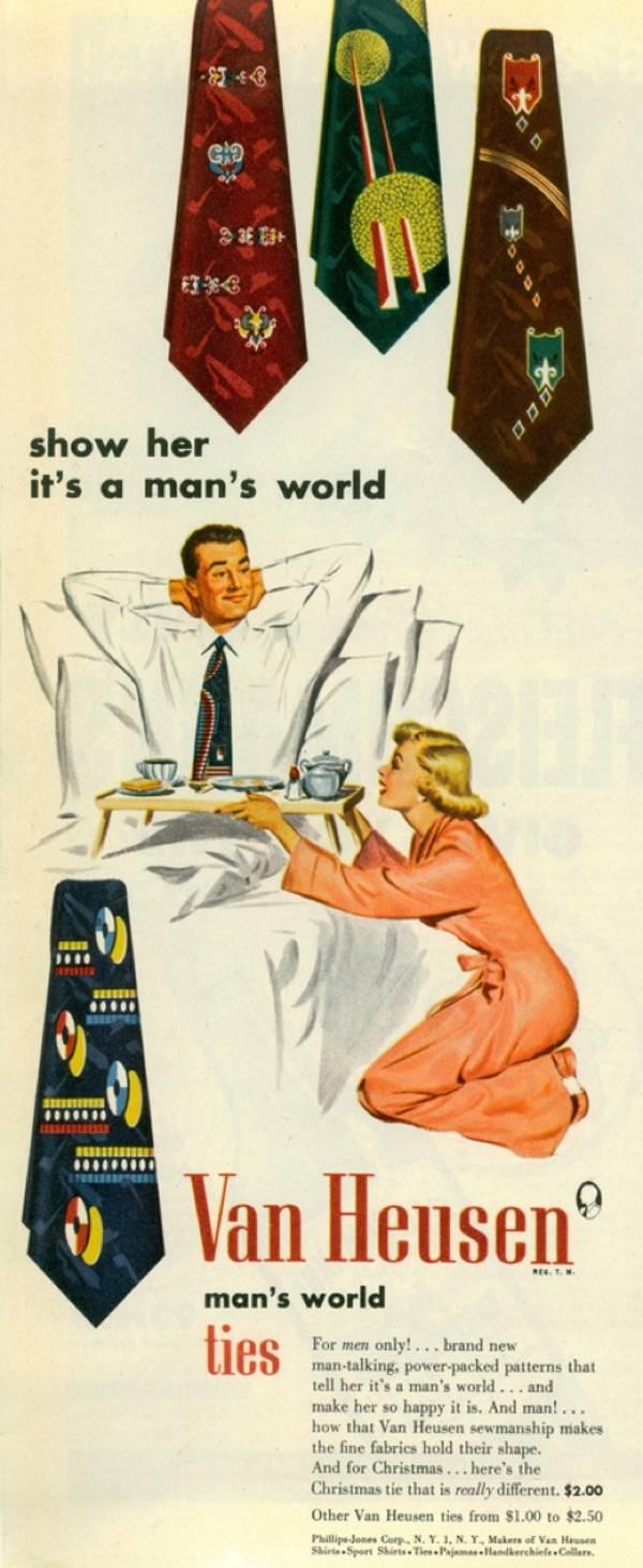 Enseñale que es un mundo de hombres - Van Heusen