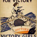Todas las chicas reman por la victoria