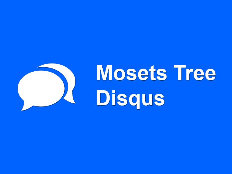 Comentarios Disqus en Mosets Tree