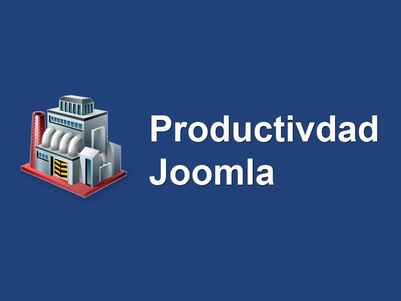 Extensiones Joomla para aumentar la productividad