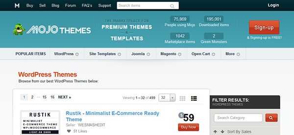 Mojo Themes - Themes para WordPress