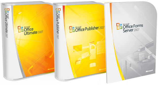 Packaging de Microsoft Office 2007