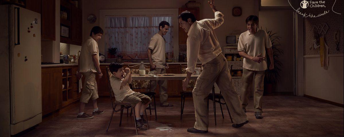 Los niños que padecen abusos se convierten en abusadores