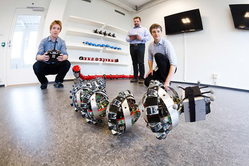 Serpiente Robot para Explorar Marte