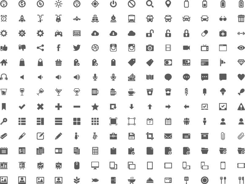 Iconos en el Diseño Web
