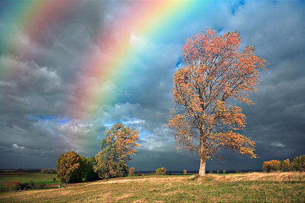 Añadir un Arco Iris a una Fotografía