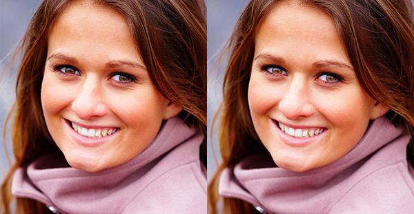 Iluminar ojos con Photoshop