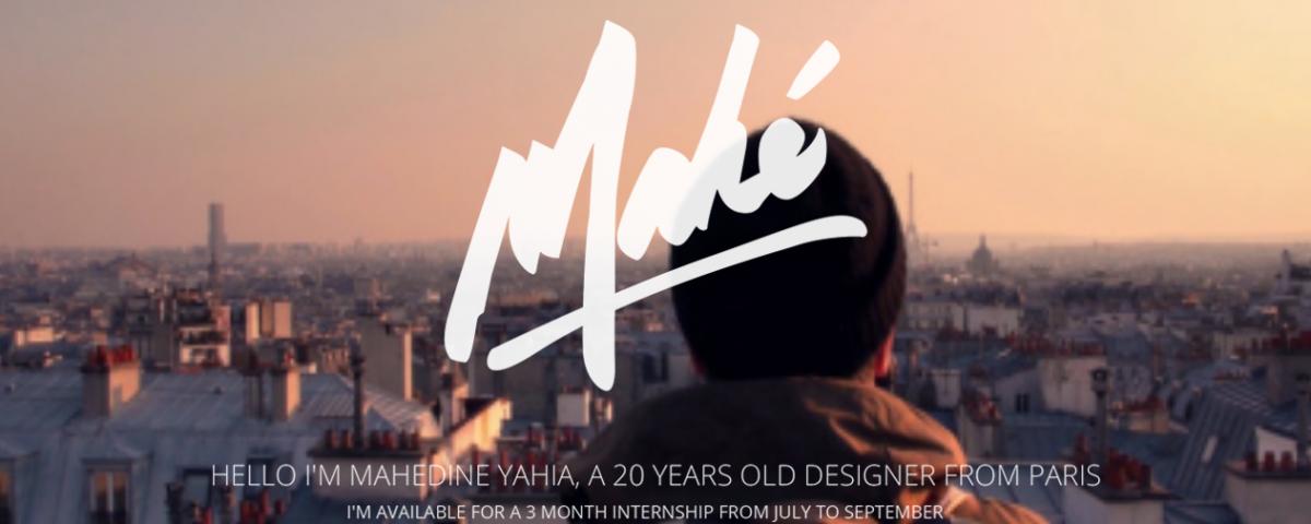 Mahédine Yahia Portfolio