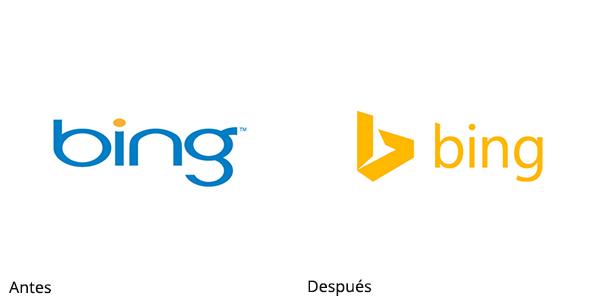Rediseño de Bing
