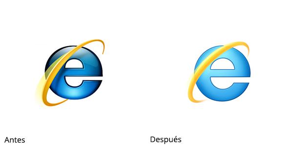 Rediseño de Internet Explorer