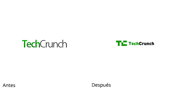 Rediseño de TechCrunch