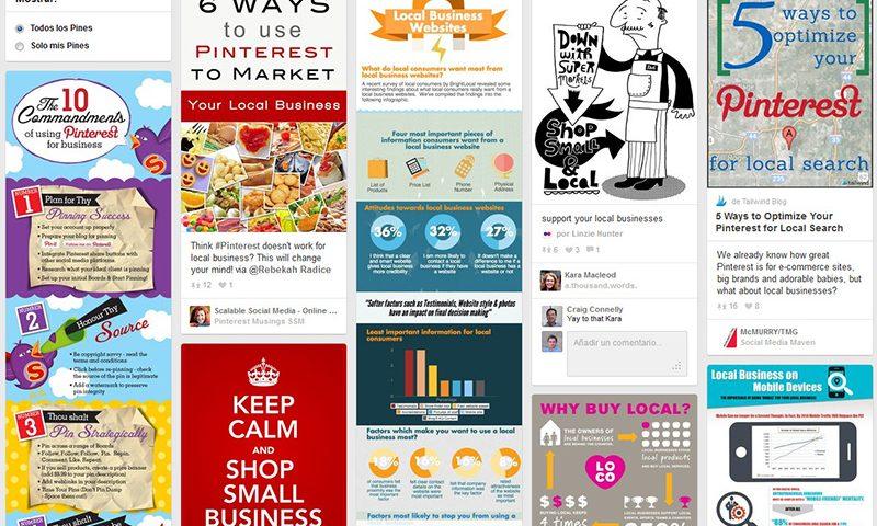 Pinterest para Negocios Locales
