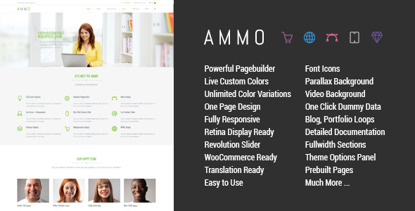 Tema WordPress Ammo