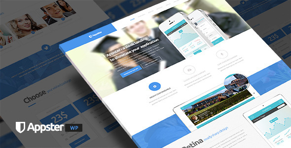 Tema WordPress Appster