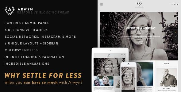 Tema WordPress Arwyn