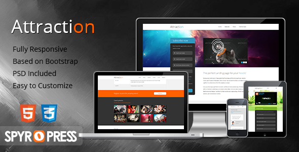Tema WordPress Attraction
