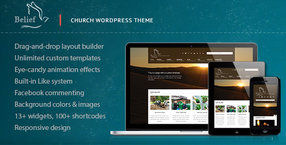 Tema WordPress Belief