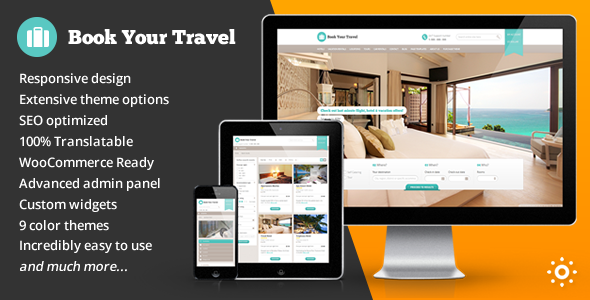 Tema WordPress Book Your Travel