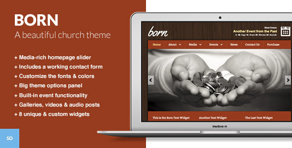Tema WordPress Born