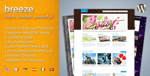 Tema WordPress Breeze