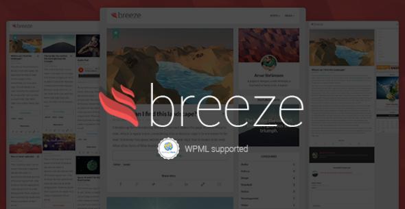 Tema WordPress Breeze