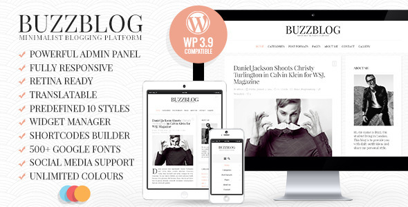 Tema WordPress Buzz Blog