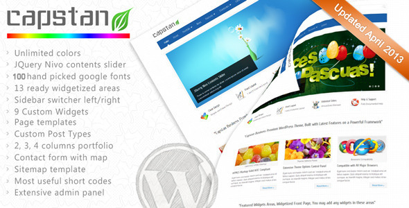 Tema WordPress Capstan