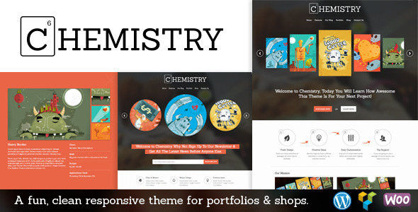 Tema WordPress Chemistry
