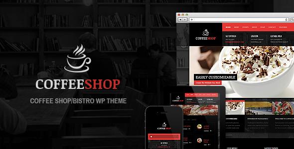 Tema WordPress Coffee Shop