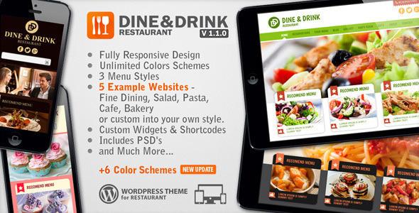 Tema WordPress Dine & Drink