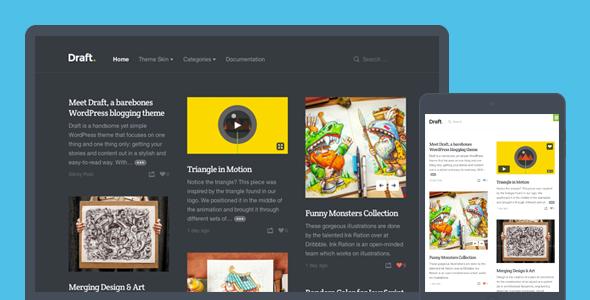 Tema WordPress Draft
