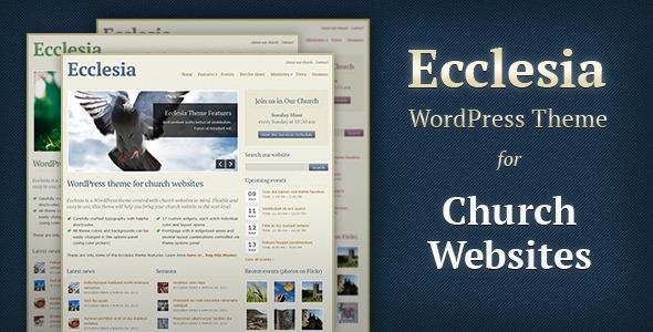 Tema WordPress Ecclesia