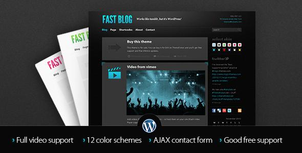 Tema WordPress Fast Blog