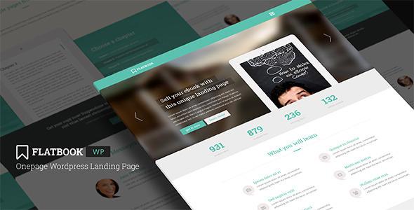 Tema WordPress Flatbook