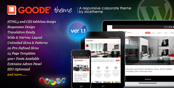 Tema WordPress Goode