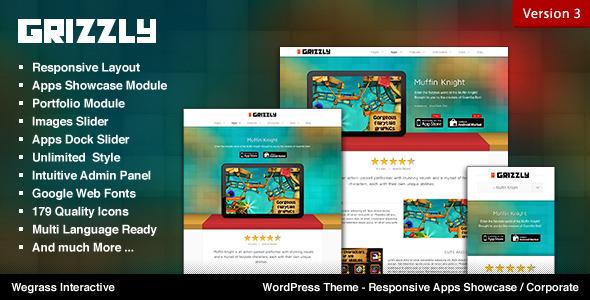 Tema WordPress Grizzly