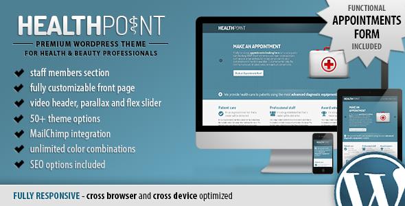 Tema WordPress Health Point