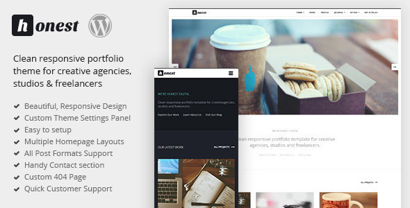 Tema WordPress Honest