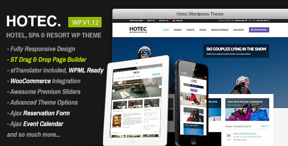 Tema WordPress Hotec