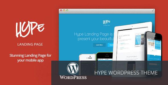 Tema WordPress Hype