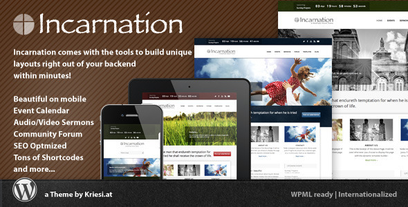 Tema WordPress Incarnation