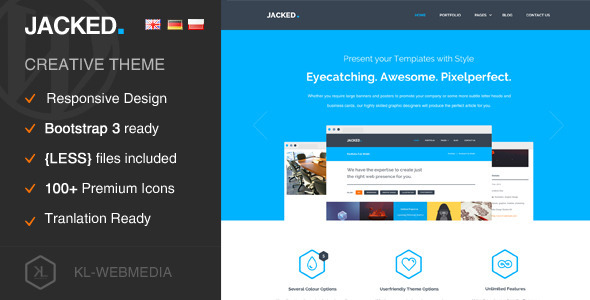 Tema WordPress Jacked