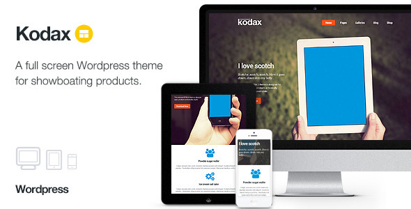 Tema WordPress Kodax