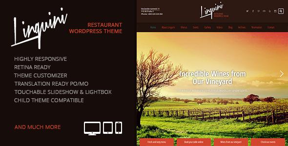 Tema WordPress Linguini
