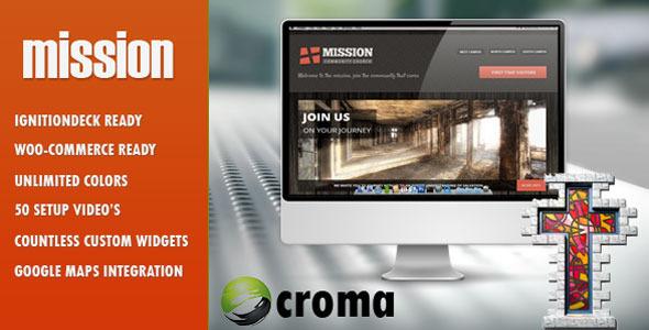 Tema WordPress Mission