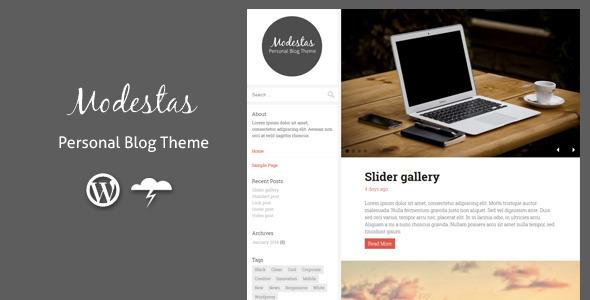 Tema WordPress Modestas