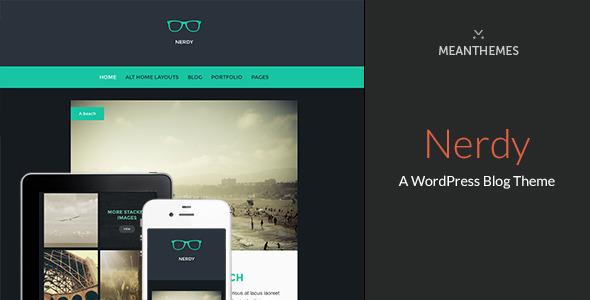 Tema WordPress Nerdy
